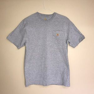 Men's Grey Carhartt T-Shirt